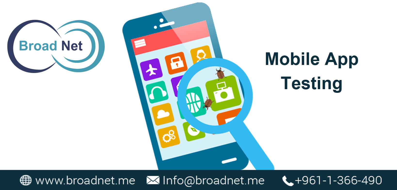 BroadNet Technologies is at the cutting-edge of Mobile App Testing