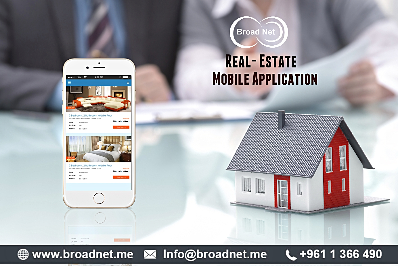 BroadNet Technologies - A Company at the Cutting-edge of Developing top Real Estate Mobile Apps