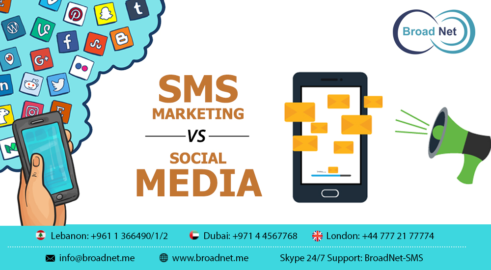 SMS Marketing Vs. Social Media: Which Is Better for Business?