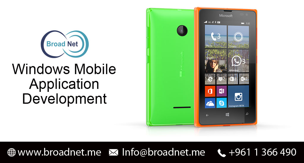 BroadNet Technologies offers Windows Phone Development for Superb Business Enhancement