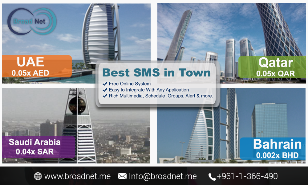 BroadNet Technologies offer Bulk SMS Reseller Services at the Lowest