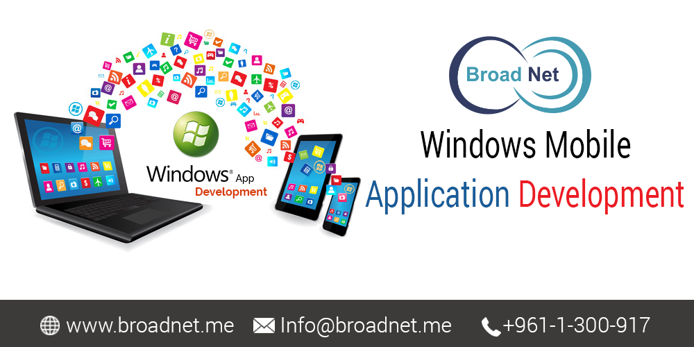 BroadNet Technologies - A Matchless Service Provider for Windows Mobile Application Development