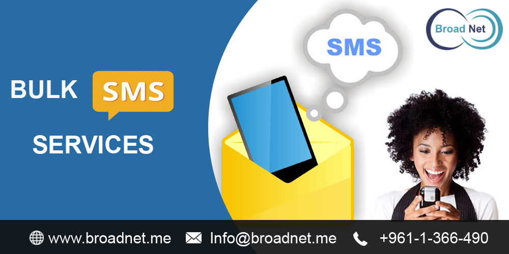 BroadNet Technologies - The Best Bulk SMS Services Provider in the