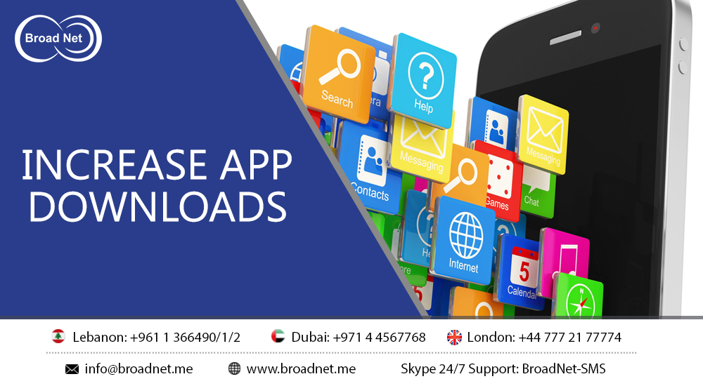How to Use SMS to Increase App Downloads?