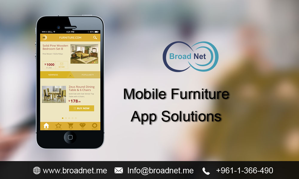 BroadNet Technologies - The Company at the Cutting-edge of Developing Mobile Furniture App Solutions