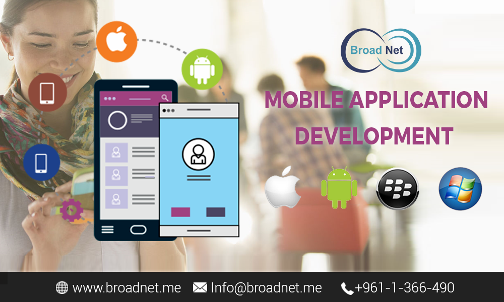 BroadNet - Capitalize on your business potential supremely via our mobile app development services